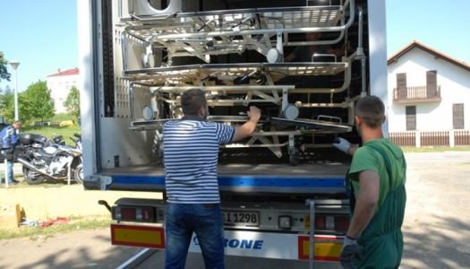 Eurobikeri dovezli osam šlepera medicinske opreme u Novu Gradišku