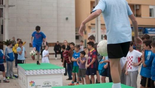 Zapaljena baklja Sportskih igara mladih u Istri