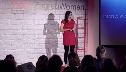 Usudi se slijediti svoju viziju | Ivana Marasović | TEDxZagrebWomen