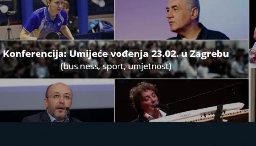 Konferencija: Umijeće vođenja 23.02. u Zagrebu