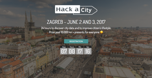 Hack A City: Odazovi se izazovu i razvij svoje Smart City ideje