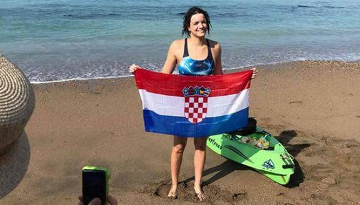 Dina Levačić prva Hrvatica koja je preplivala La Manche
