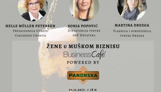 Žene u muškom biznisu – Business cafe powered by Panonska