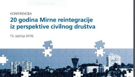 Konferencija o mirnoj reintegraciji hrvatskog Podunavlja