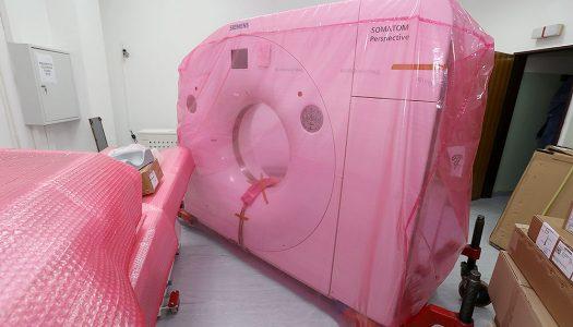 U virovitičkoj Općoj bolnici počelo postavljanje novog, modernog 128-slojnog CT uređaja