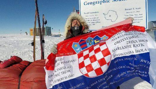 Davor Rostuhar prvi Hrvat koji je osvojio Južni pol !