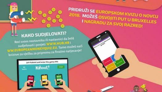 """Kreću prijave za prvi """"Europski kviz o novcu"""" za učenike"""