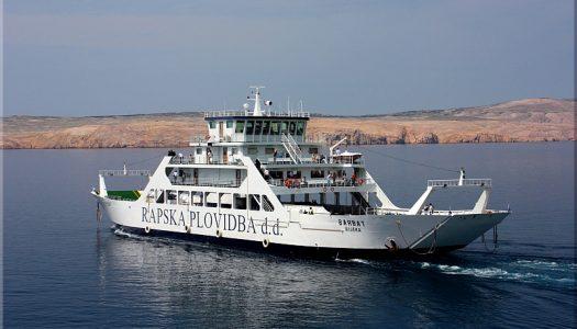 Za 60 milijuna kuna izgrađen najveći trajekt Rapske plovidbe: Primit će 99 vozila i 594 putnika