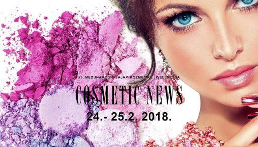 25. MEĐUNARODNI SAJAM KOZMETIKE i WELLNESSA COSMETIC NEWS 2018