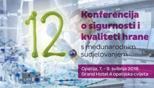 XII. Konferencija o sigurnosti i kvaliteti hrane
