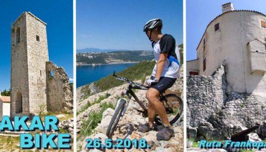"""Biciklijada """"Bakar bike – ruta Frankopana"""""""