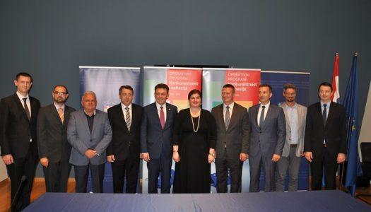 Potpisani ugovori: 129 milijuna kuna za devet novih EU projekata