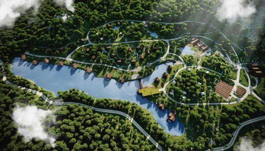 U Lici niče turistički raj s bajkovitim kućicama na jezeru i drveću