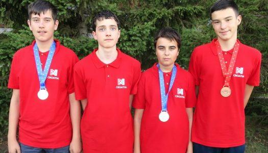 Tri medalje za mlade hrvatske informatičare na Olimpijadi u Rusiji