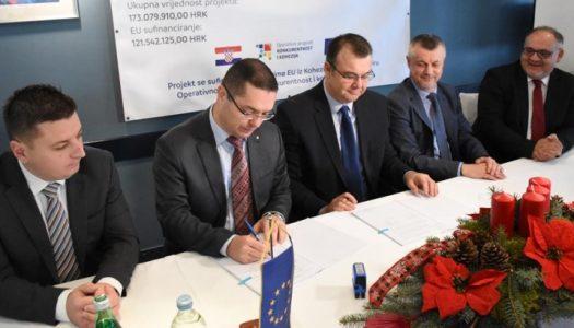 U sljedeće tri godine izgradit će se 85 kilometara kanalizacijske mreže na području Rugvice i Dugog Sela